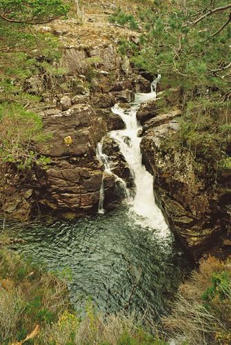 Waterfall, Loch Maree