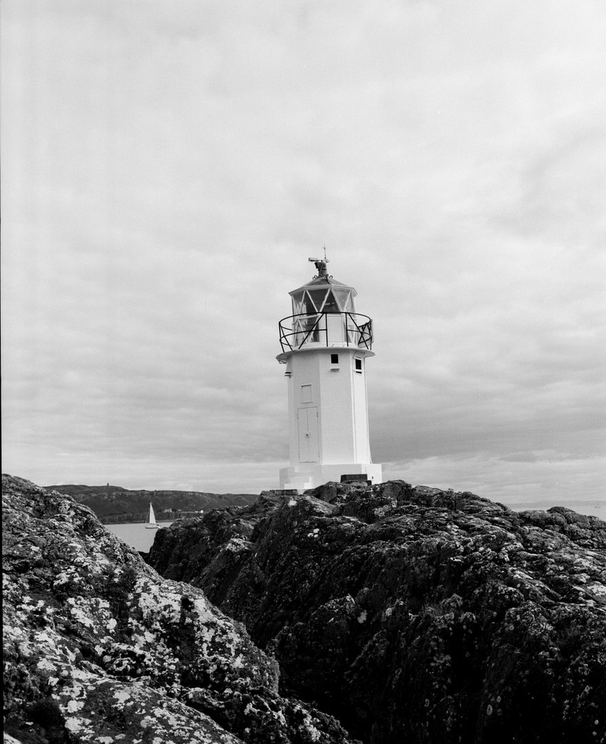 Kilchattan Bay lighthouse
