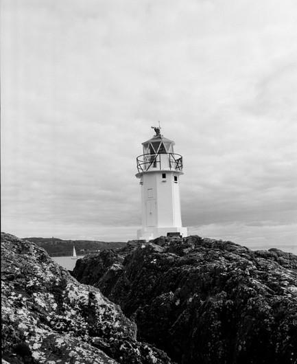 Kilchattan Bay lighthouse