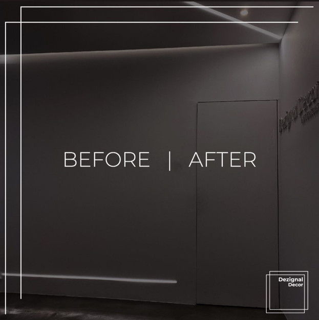 Before/After Office Renovation