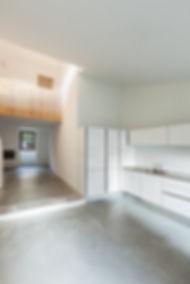 interior of stylish modern house, room v