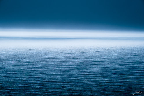Blue Worlds from the Series Horizons by Jean-Michel Lenoir