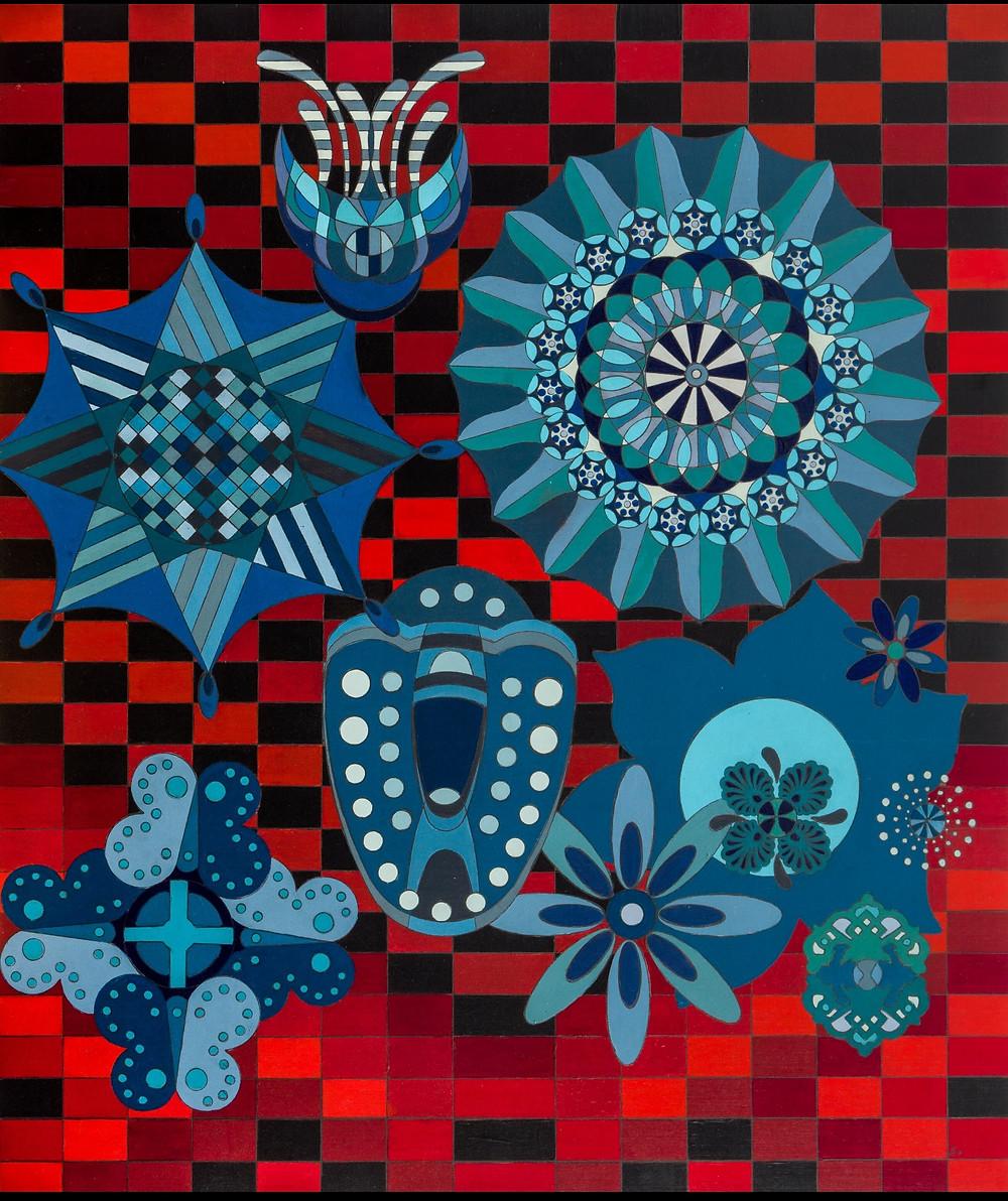 Blues by Claudia Lohmann