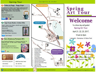 Spring Art Tour April 2017