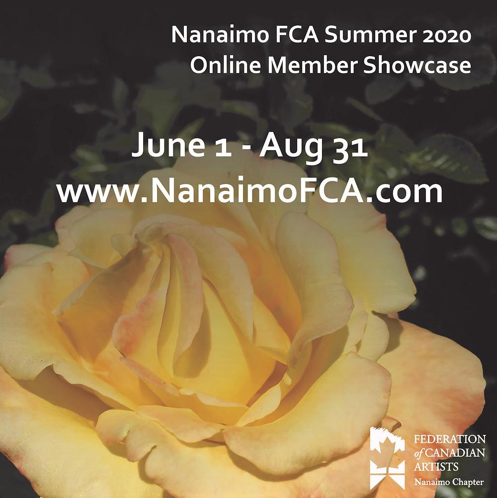 Show Poster Summer 2020 NFCA