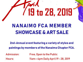2019 Nanaimo FCA Member Showcase & Art Sale