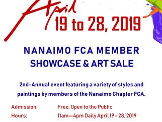 2019 Nanaimo FCA Member Showcase & Art Sale