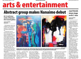 About Us 16 Arts Council Show - Jan 3, 2019 Nanaimo News Bulletin