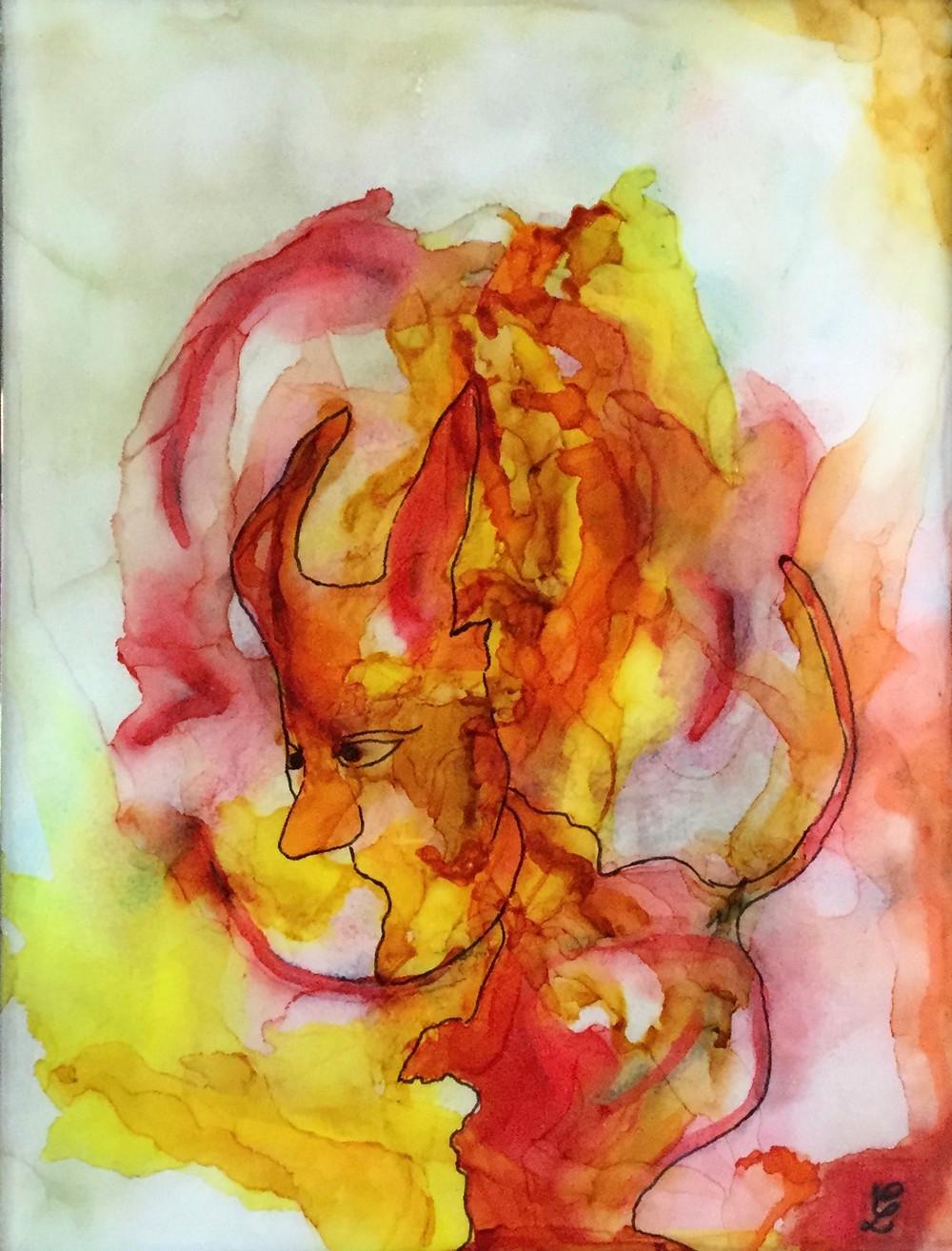 Efreeti by Claudia Lohmann