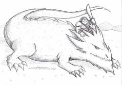 Bestia - Dragón