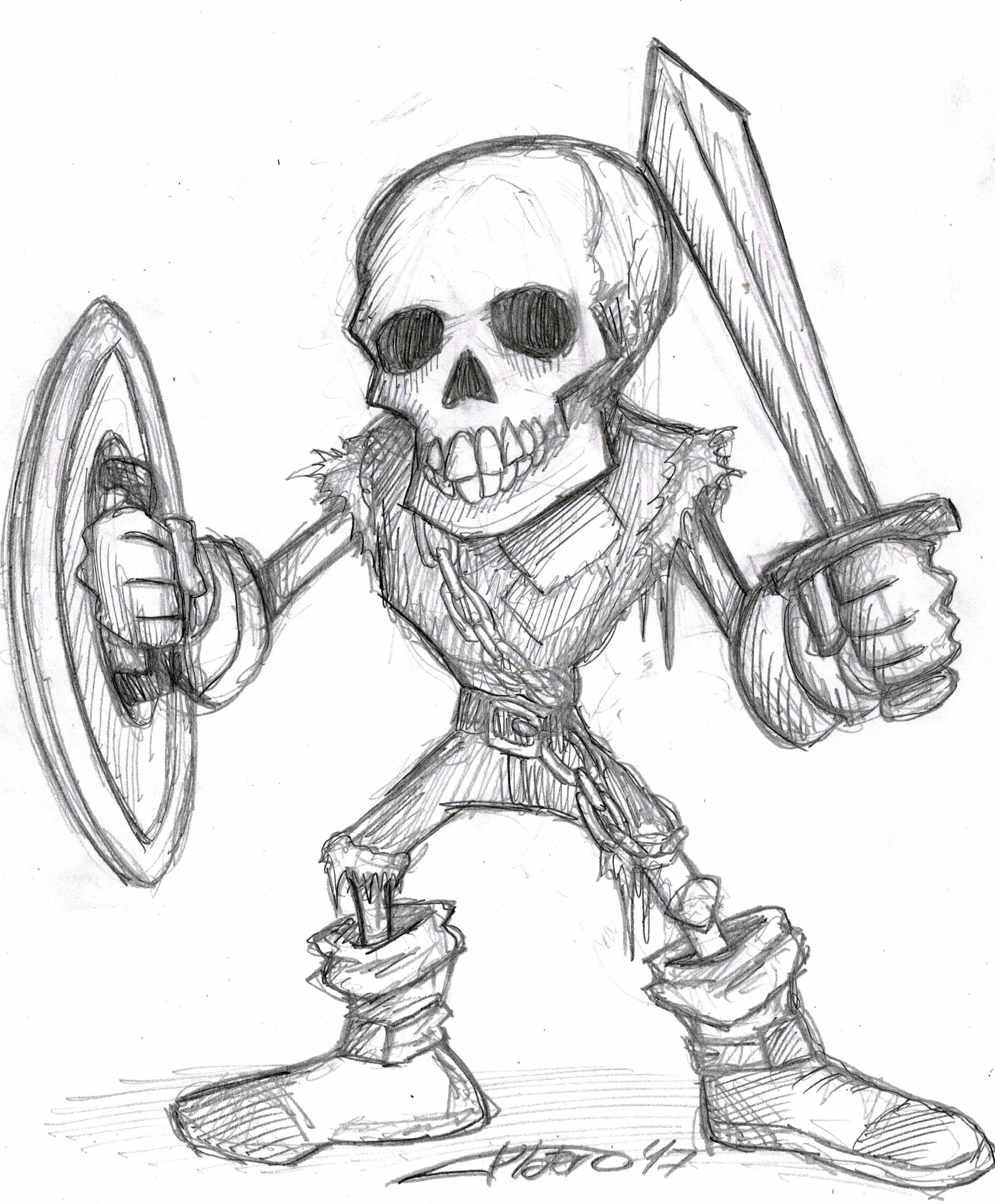 Caballero Esqueleto