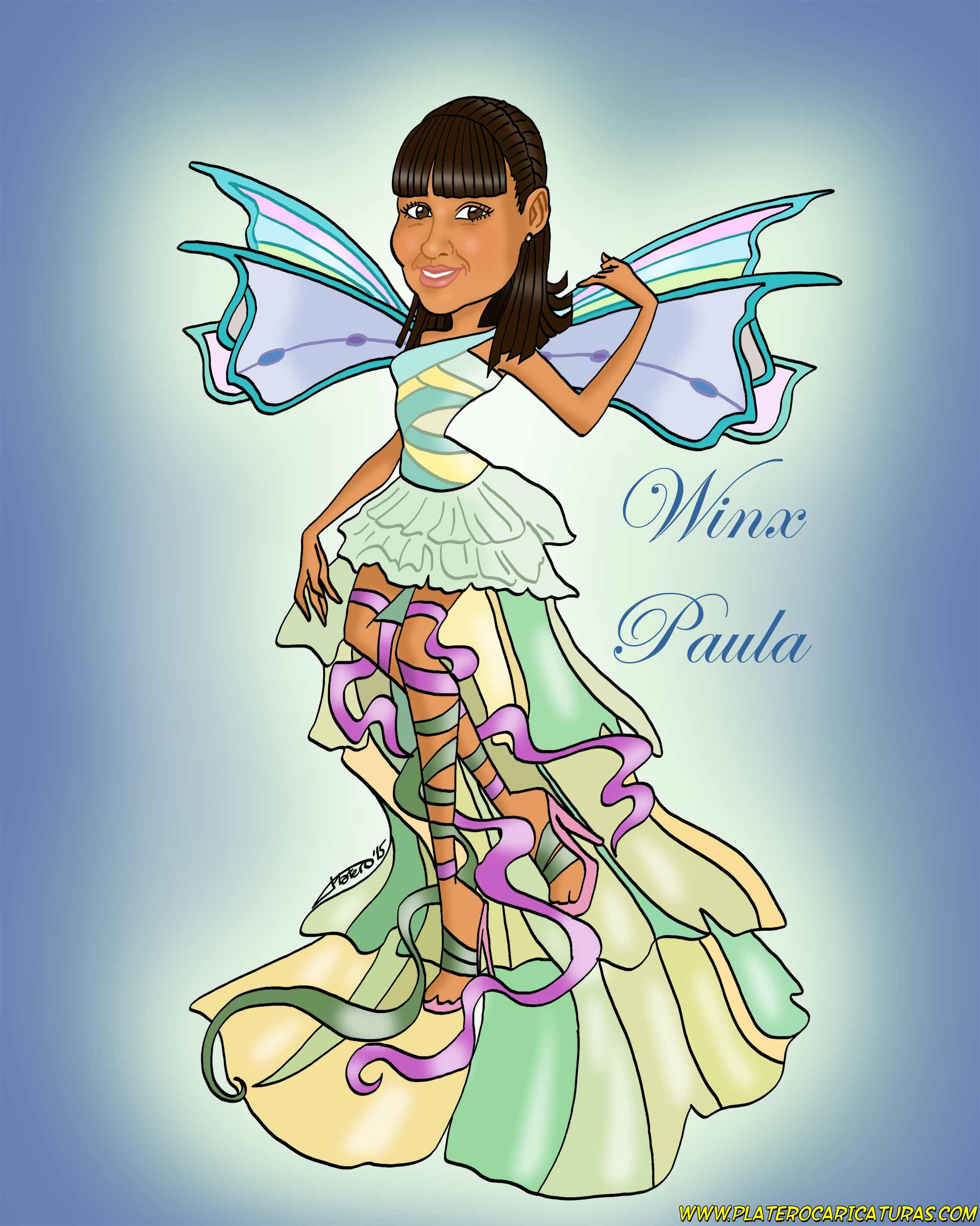 caricaturas_a_color_por_encargo_personalizadas_niña_winx_platerocaricaturas_elmundodeplatero_josé_lu