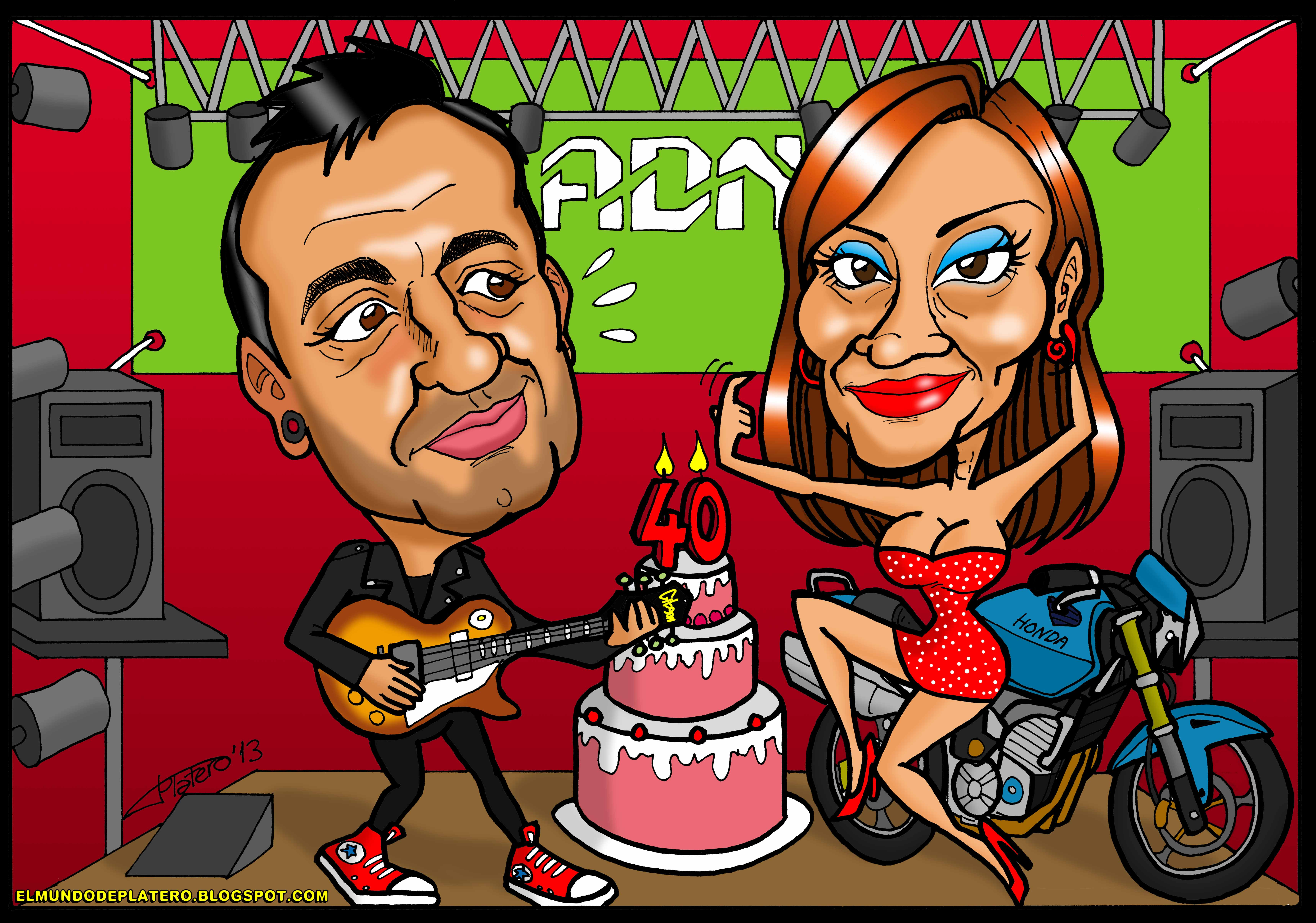 caricaturas a color por encargo personalizadas_cumpleaños_elmundodeplatero_josé