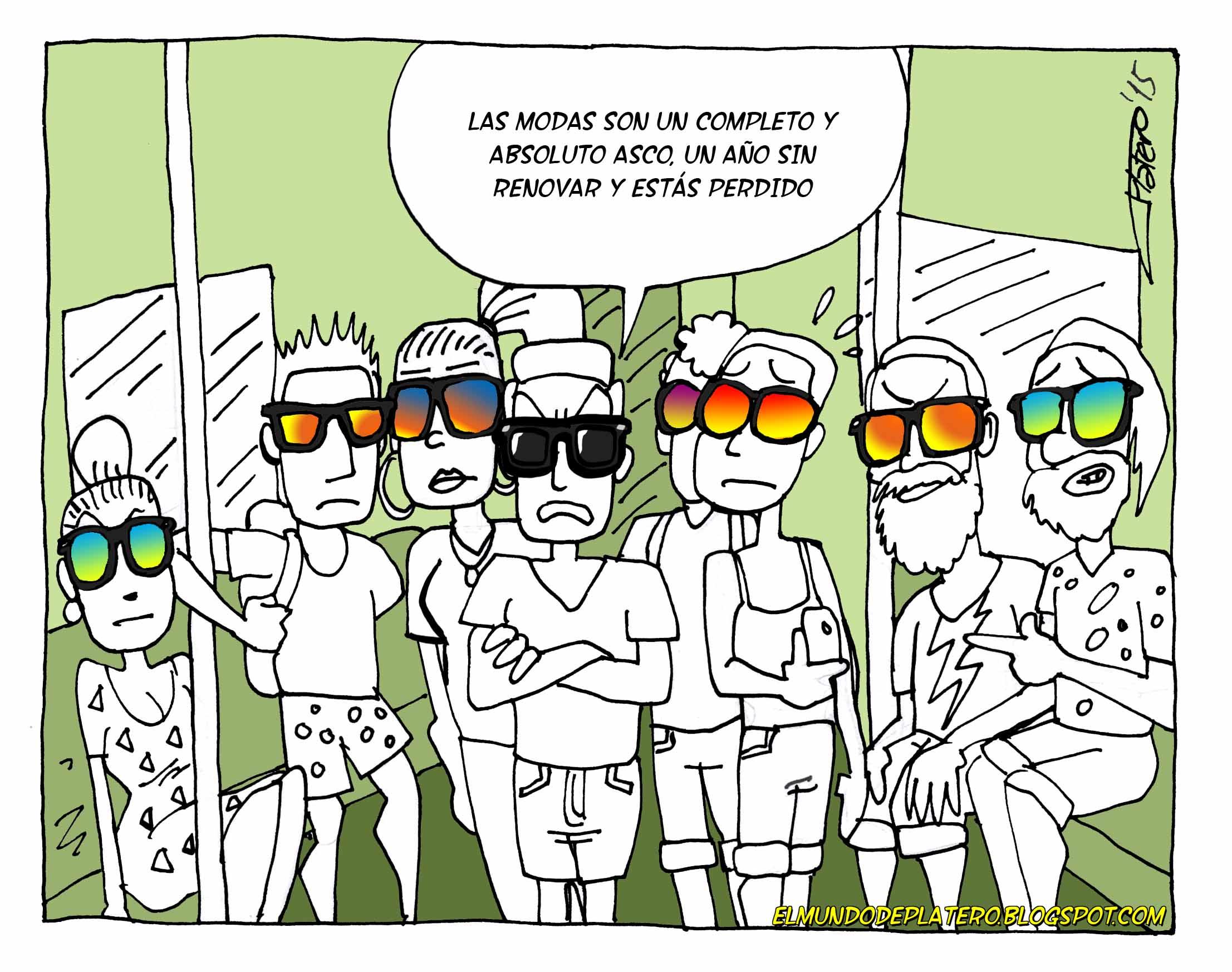 La_moda_2015_es_un_asco_gafas_con_cristales_polarizados_cómic_josé_luis_platero_