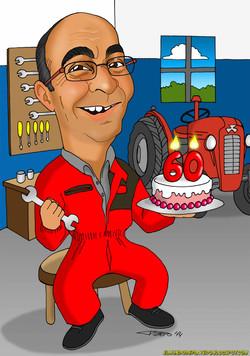 caricaturas_a_color_por_encargo_personalizadas_hombre_mecánico_platerocaricatura