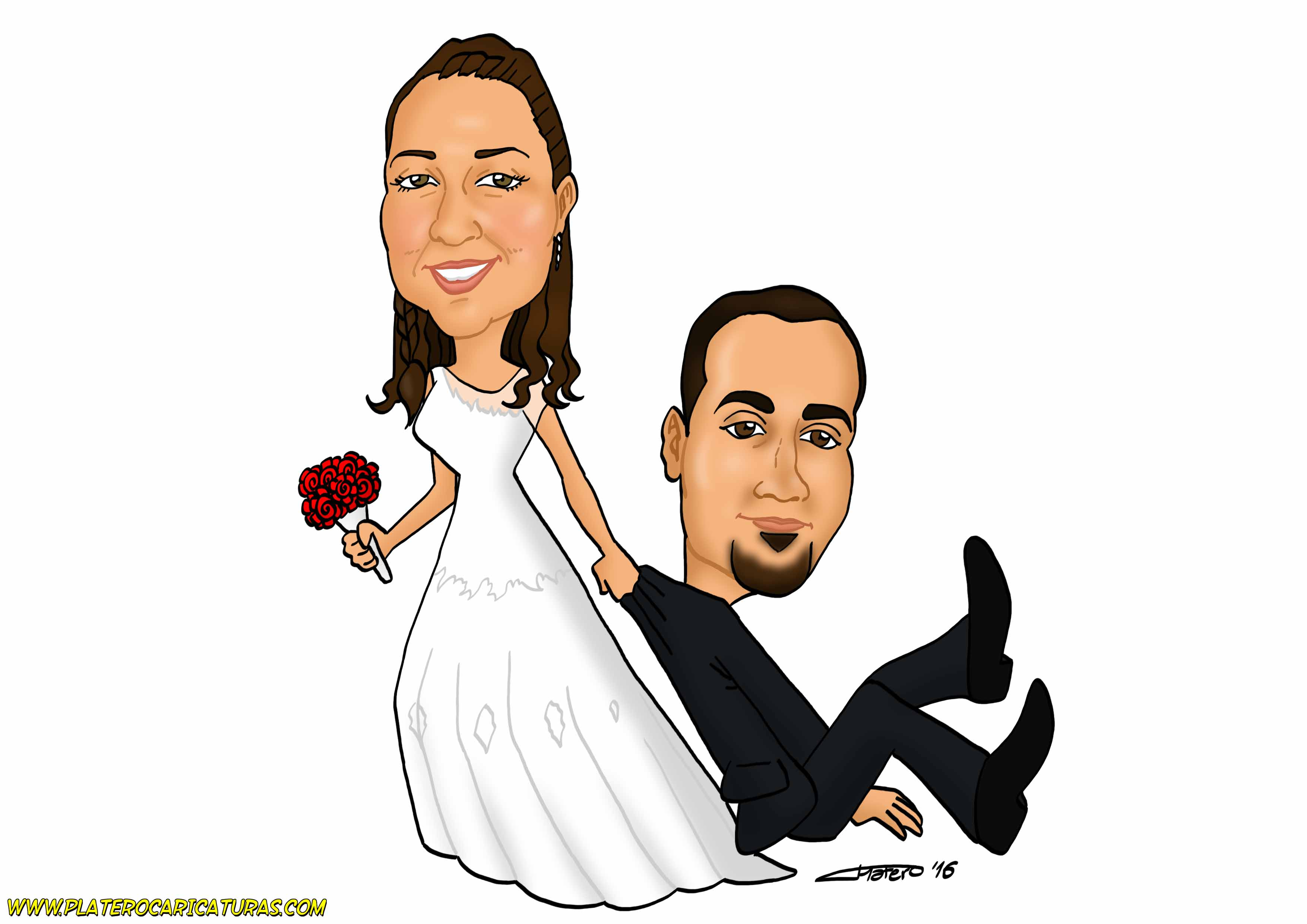 02_caricaturas_a_color_por_encargo_personalizadas_pareja_de_novios_tarjeta_boda_platerocaricaturas_e