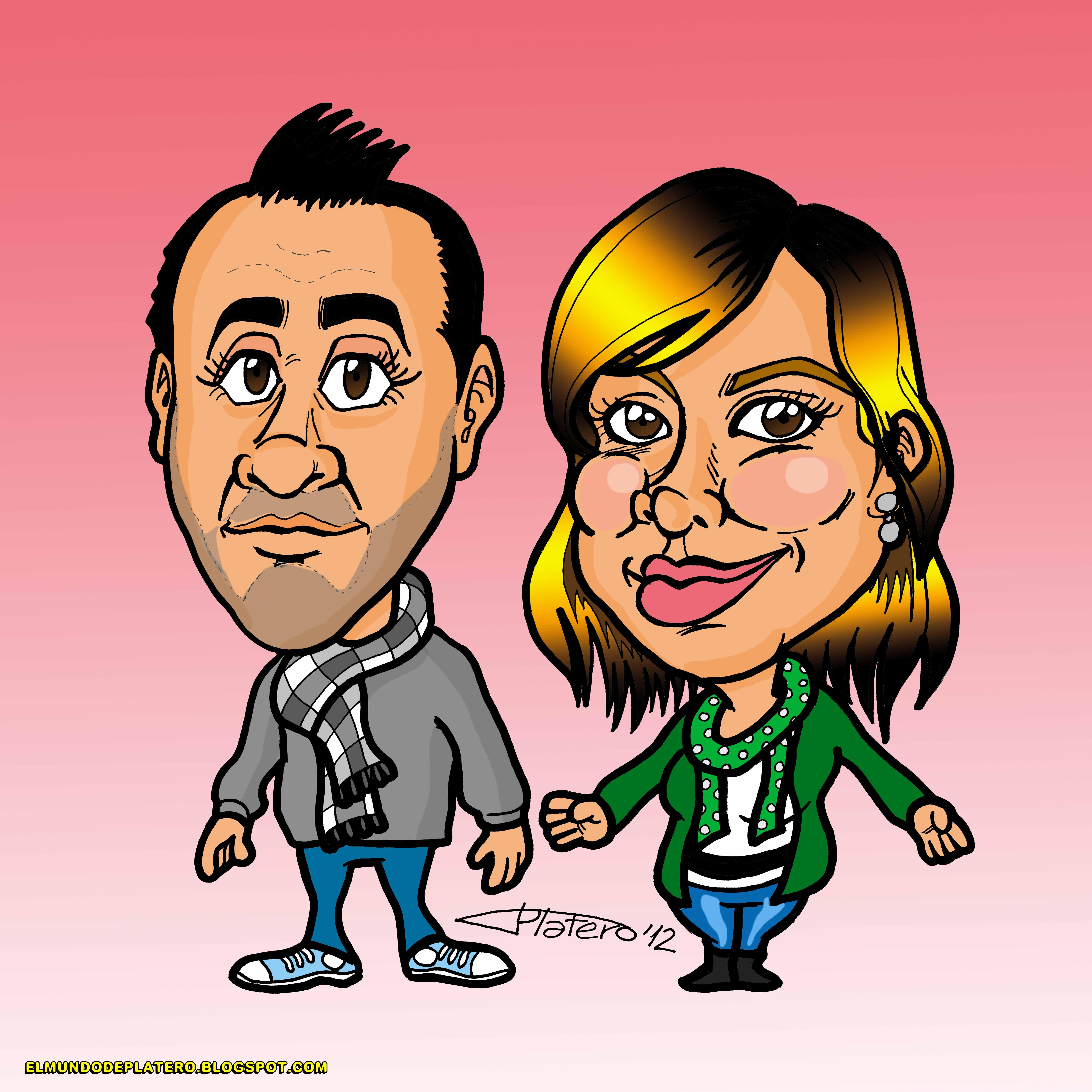 caricaturas a color por encargo_novios_elmundodeplatero_josé luis platero.jpg