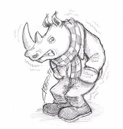 Rinoceronte friolero