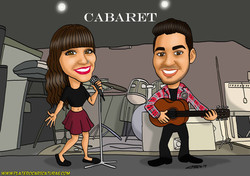 pareja concierto_caricatura_caricaturas_platerocaricaturas