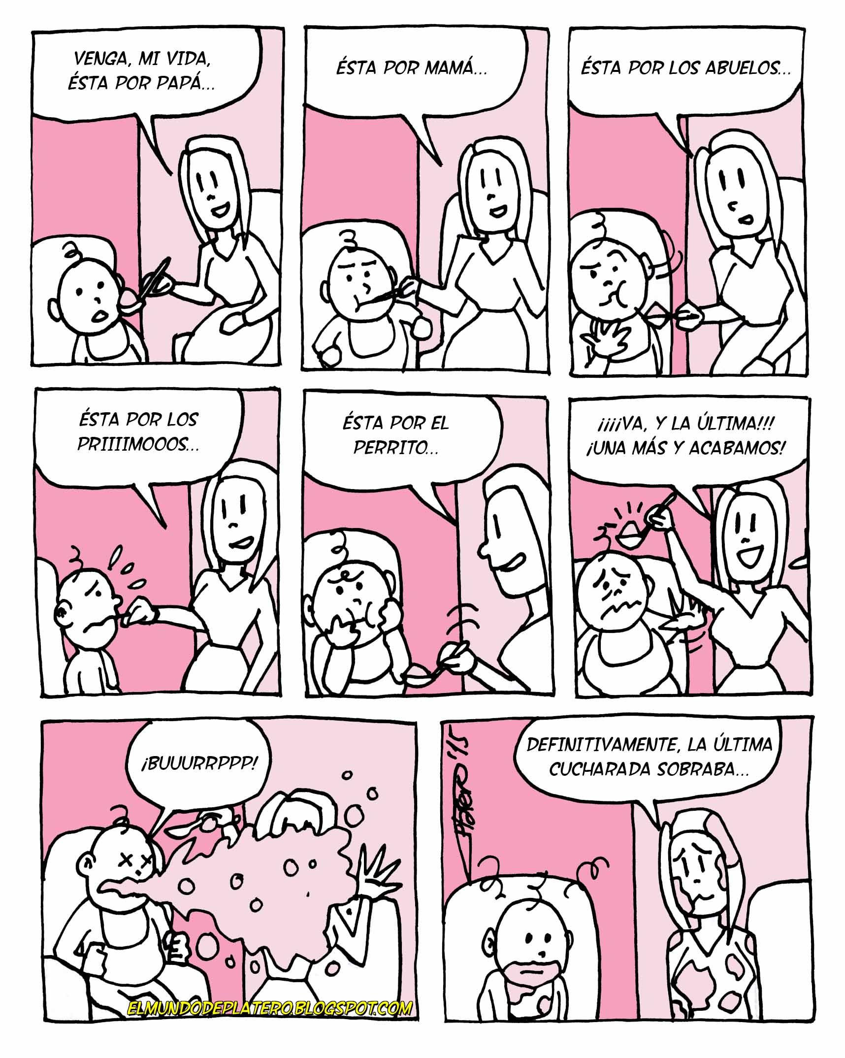 Dando de comer al niño_bebés_alimentación_vómitos_josé luis platero_elmundodepla