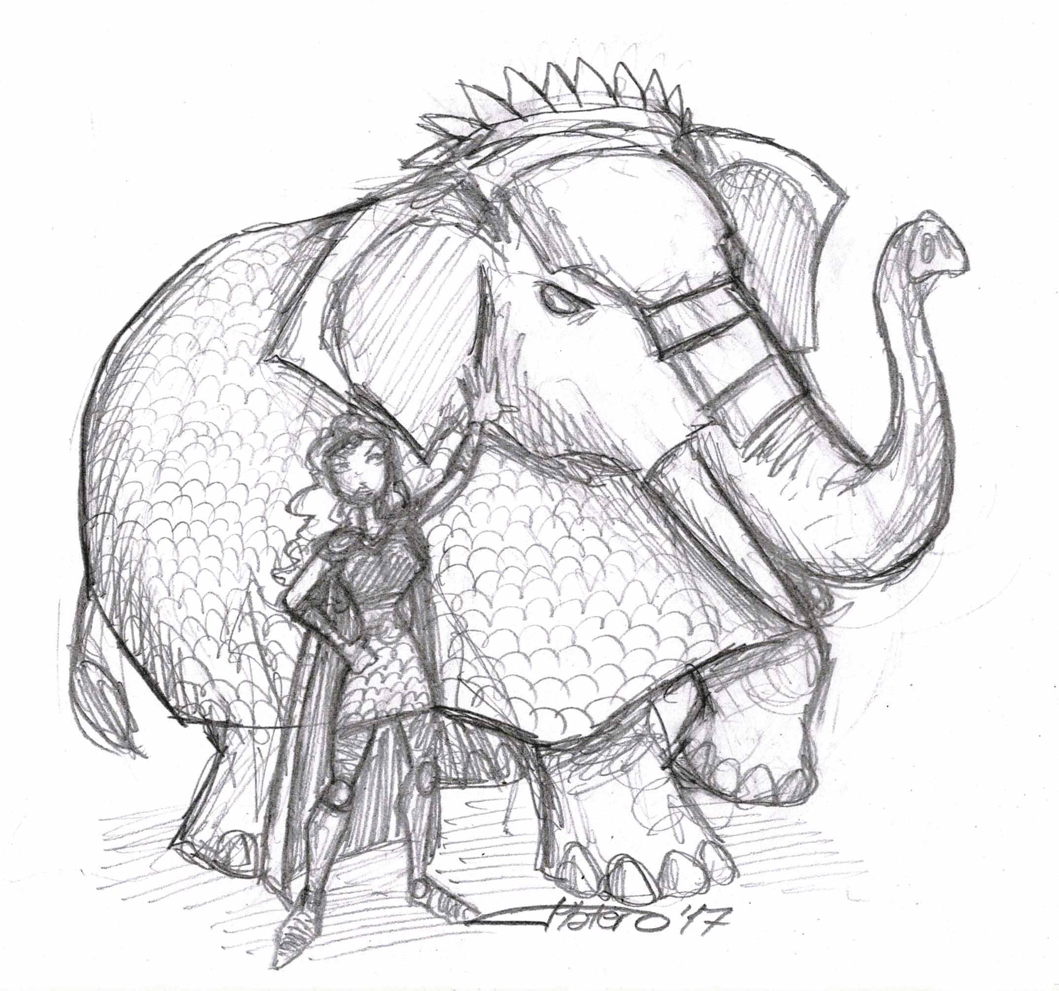Encantadora de Elefantes
