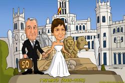 caricaturas_a_color_por_encargo_personalizadas_abuelos_aniversario_madrid_la_Cib