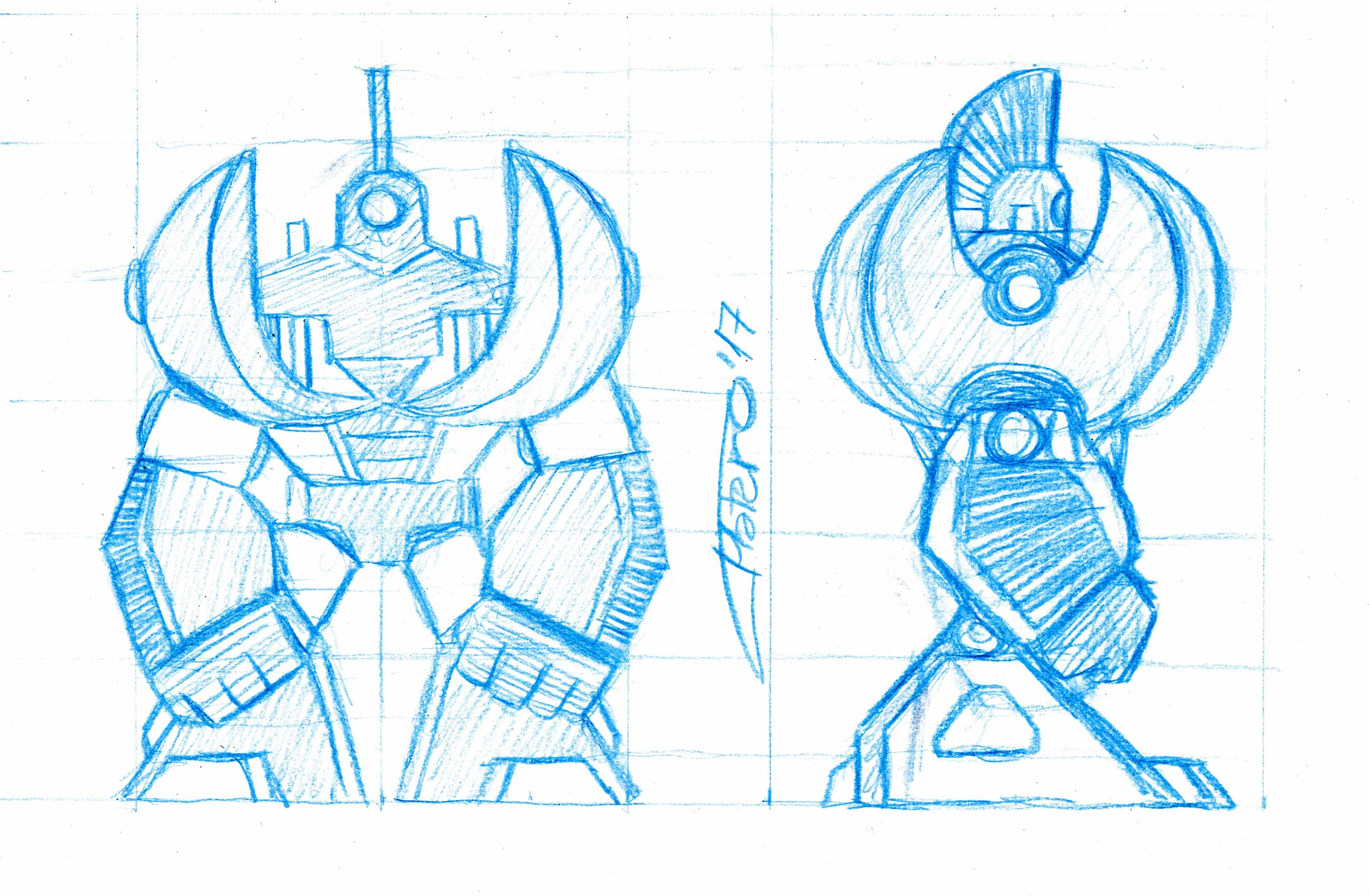 Diseño de Robot de combate