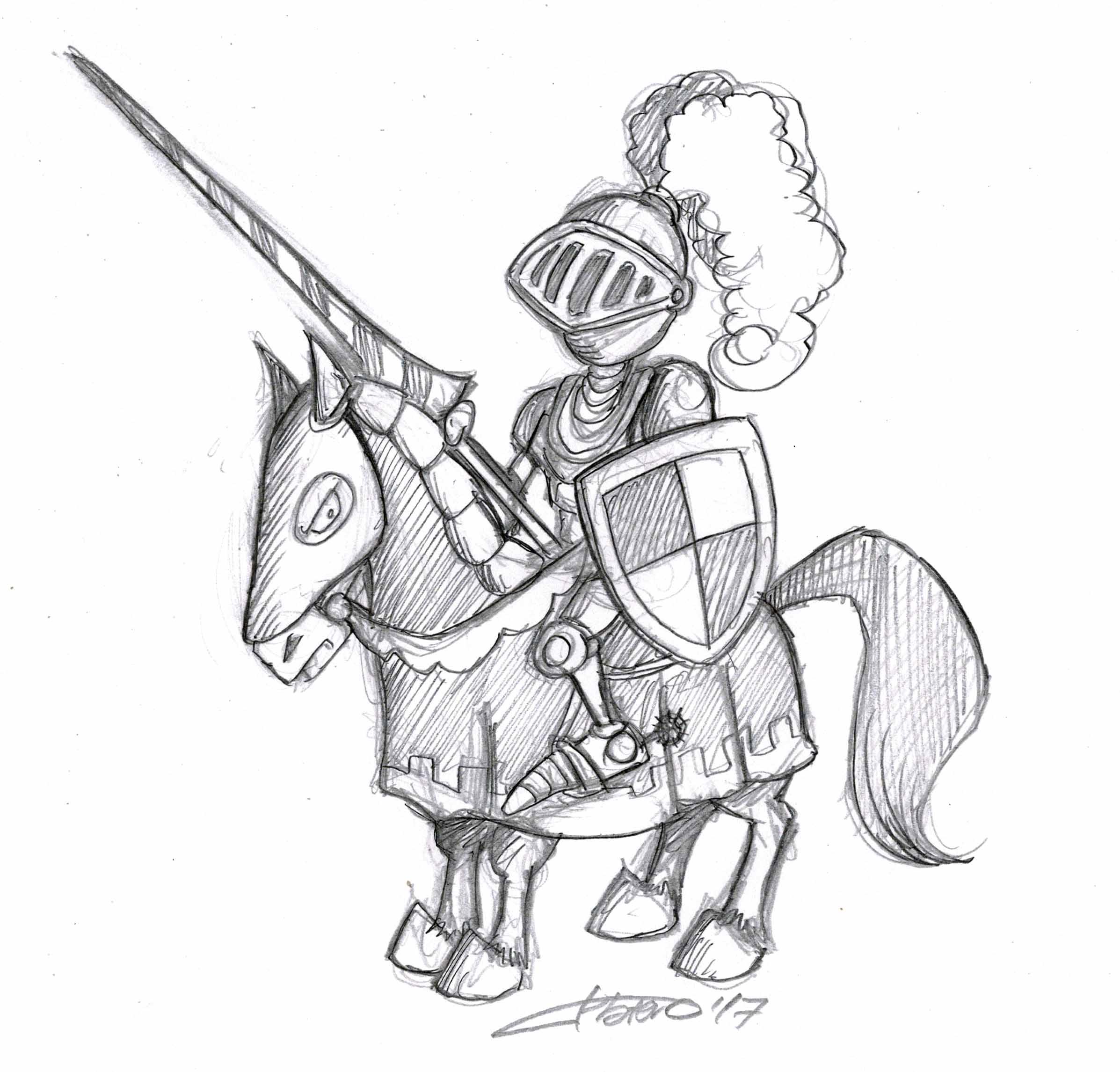 Caballero Edad Media