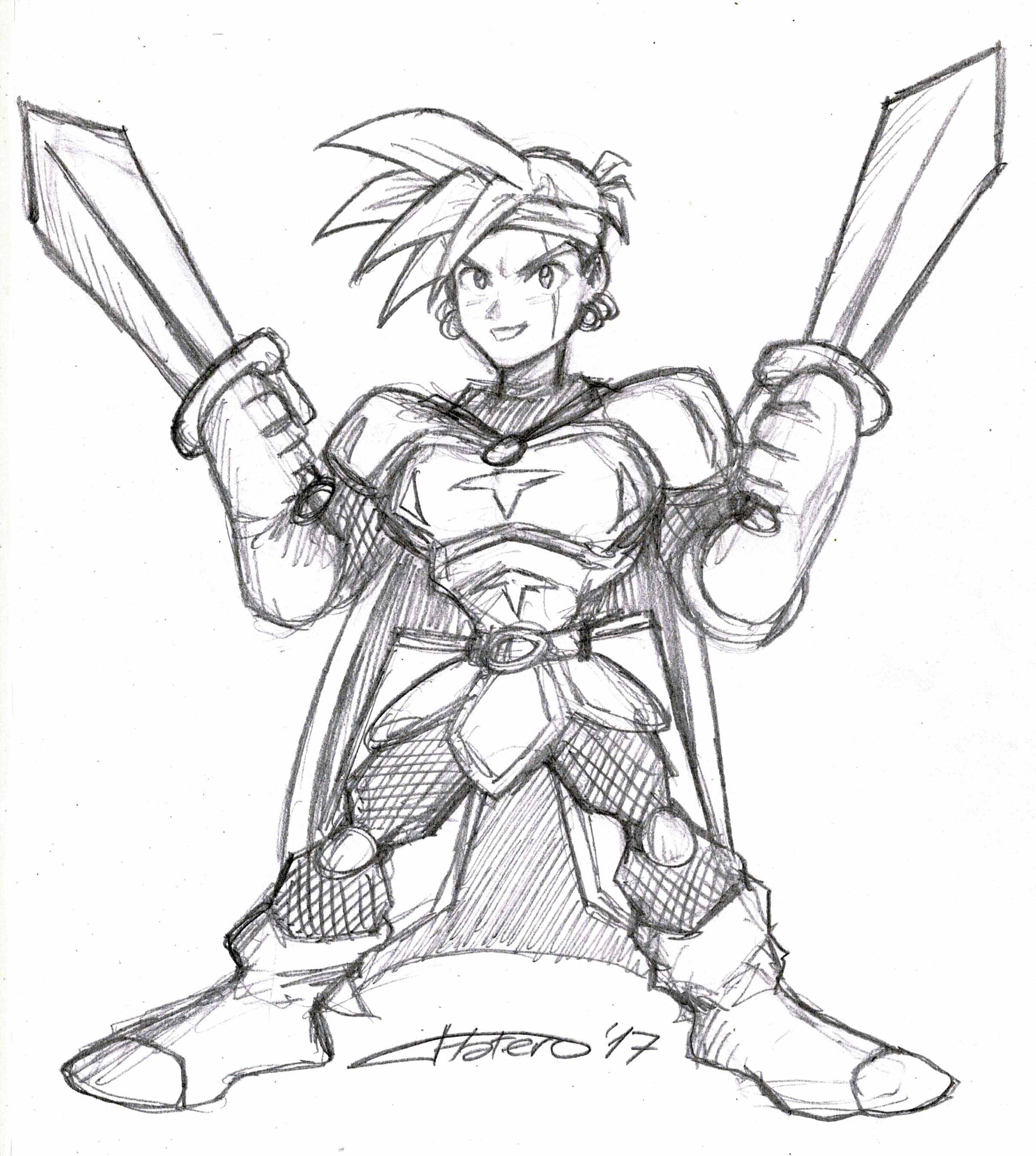 Guerrero espadachín