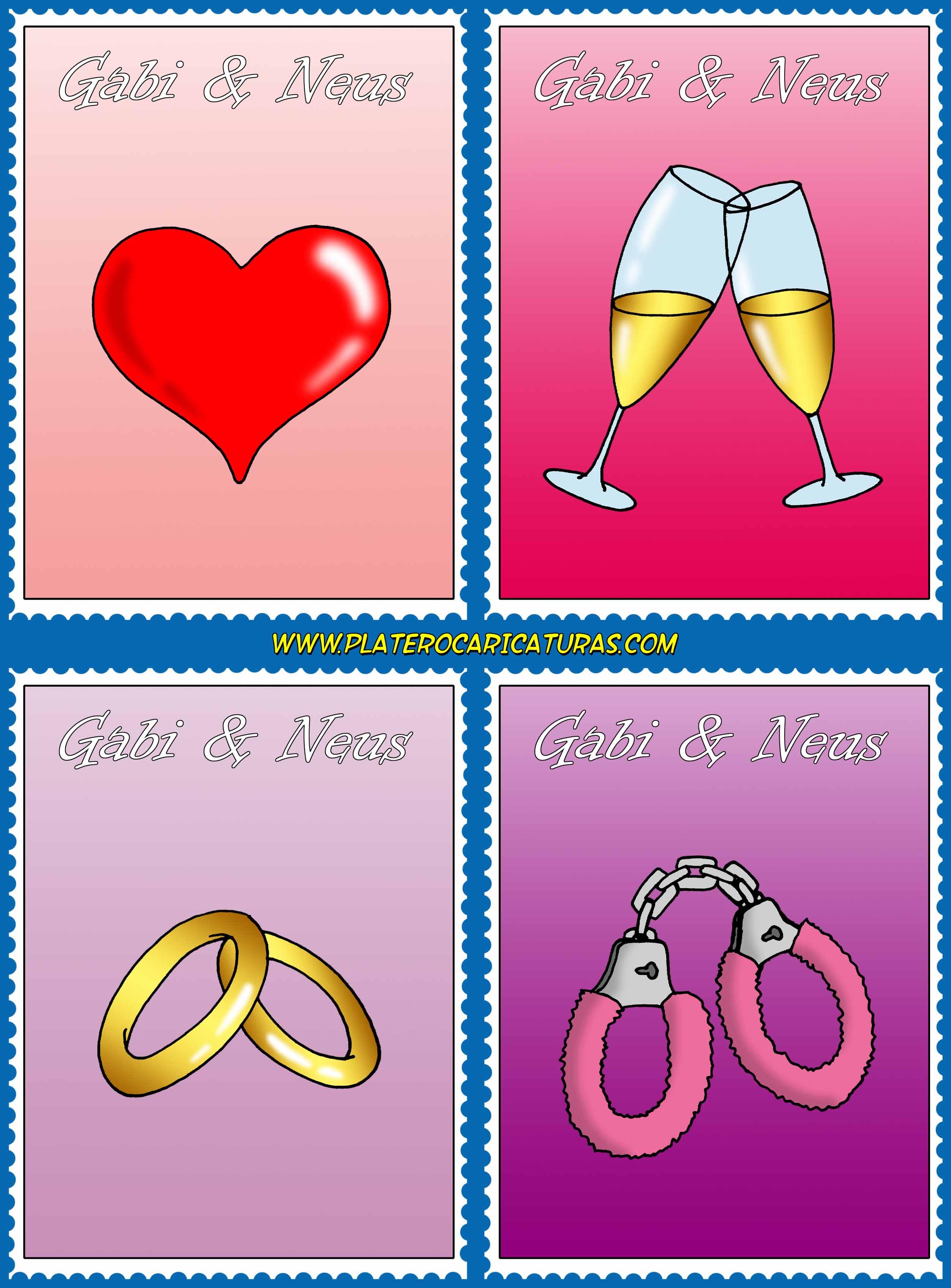 caricaturas_a_color_por_encargo_personalizadas_invitación_novios_boda_sellos_obj