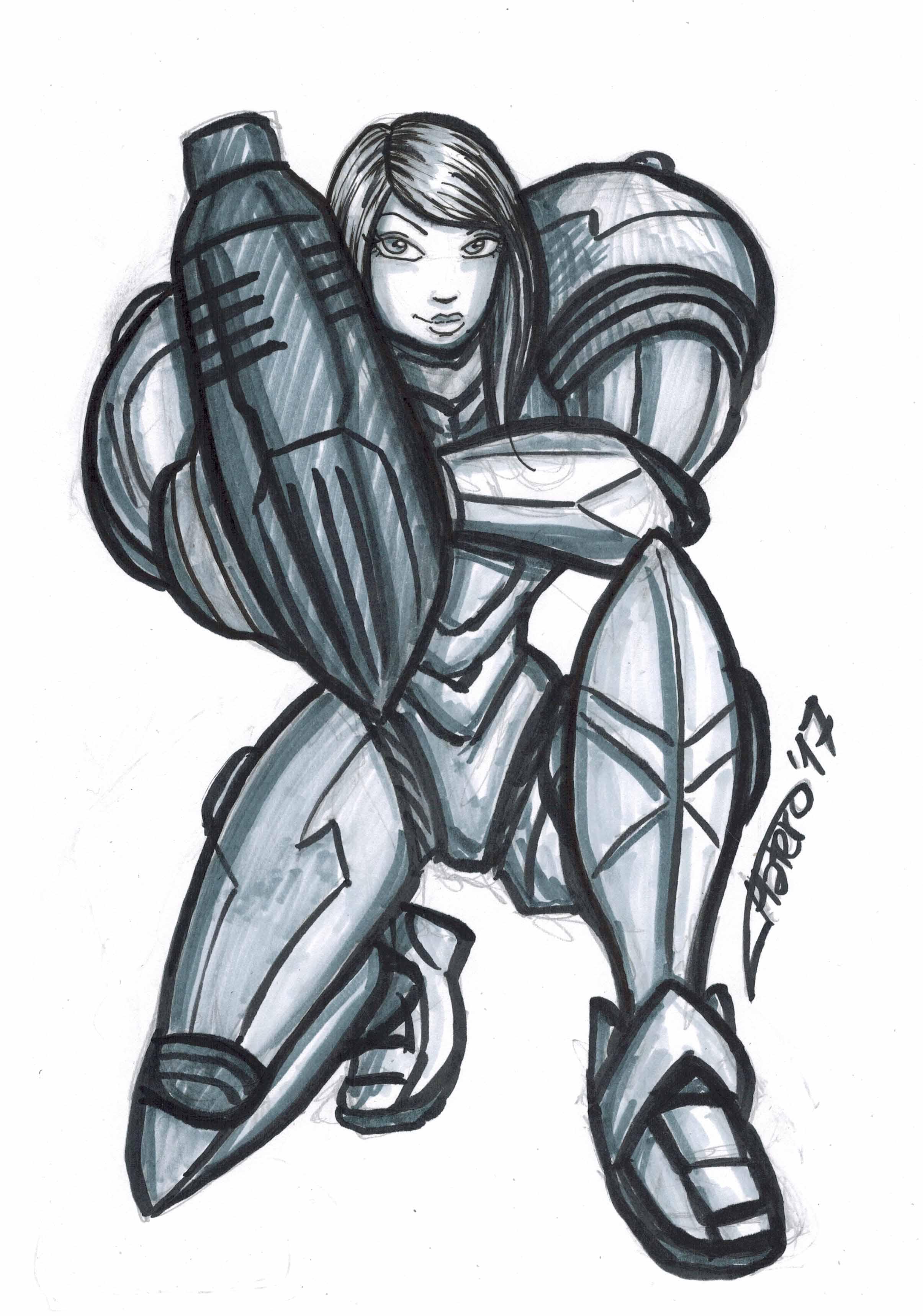 Metroid (Samus Aran)