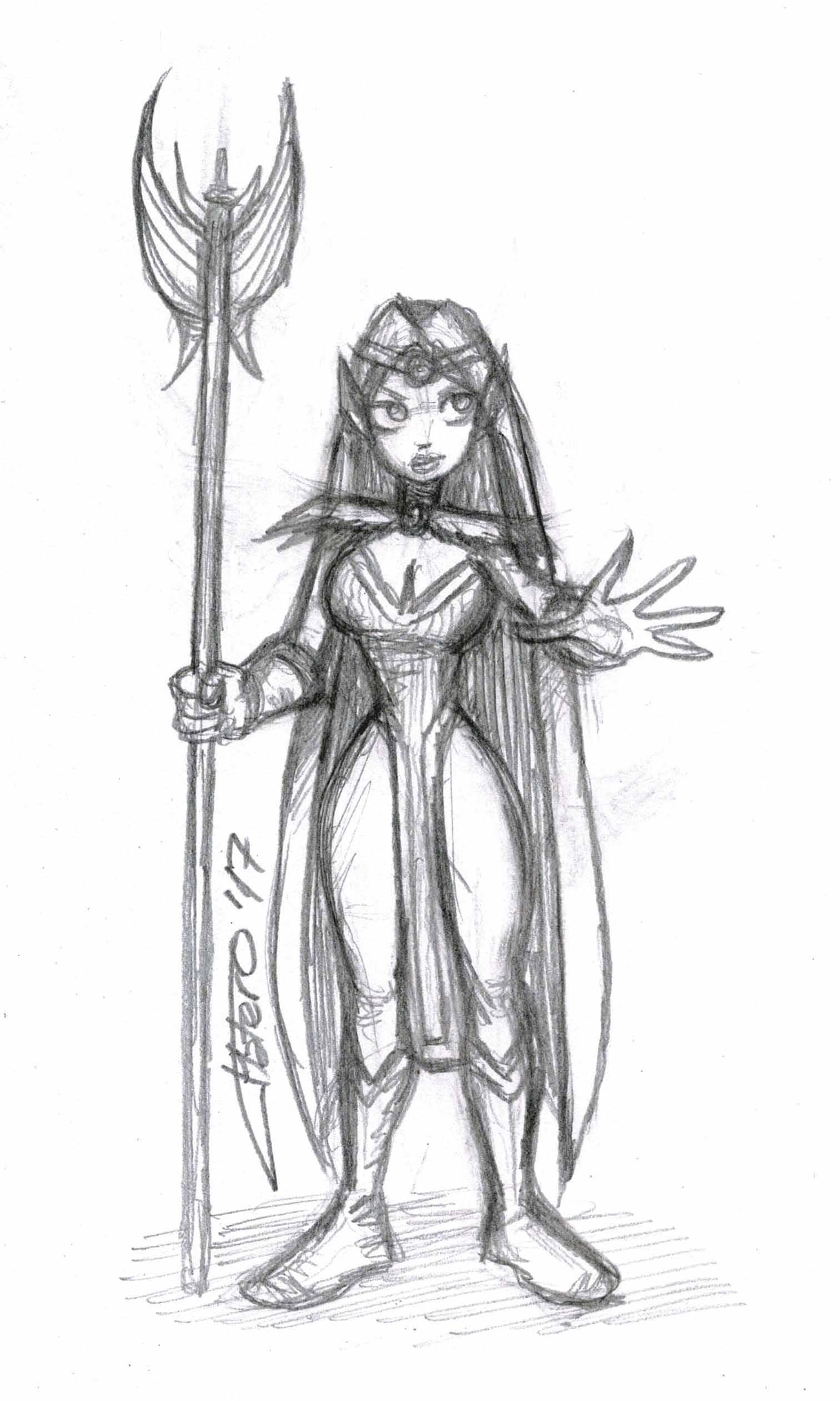 Elfa hechicera