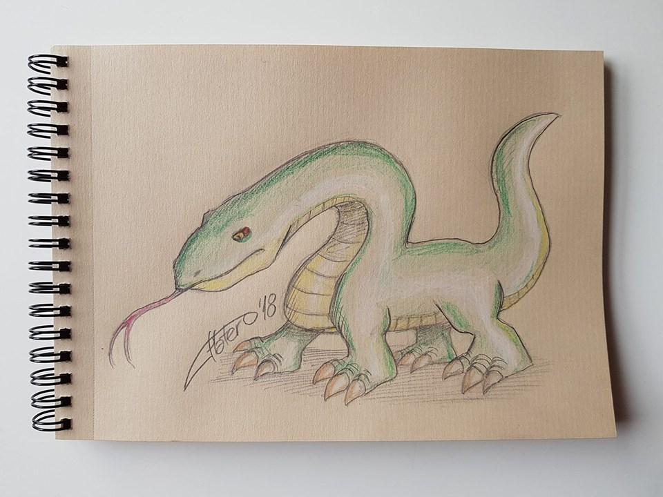 lagarto dragón