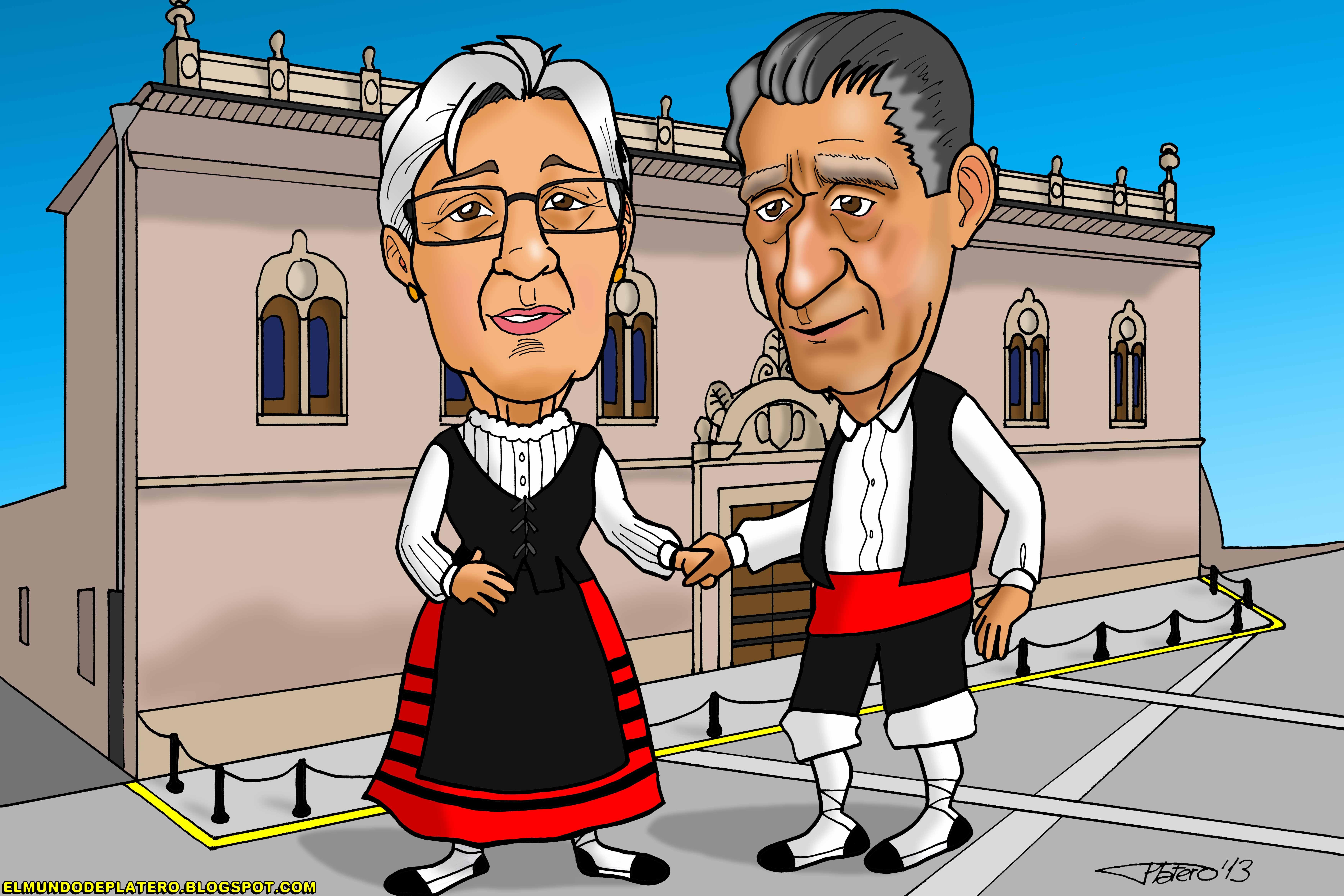 caricaturas a color por encargo personalizadas_maños_elmundodeplatero_josé luis