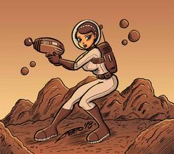 chica_astronauta_mujer_girl_woman_espacio_ciencia_ficcion_comic_aventura_jose_luis_platero_elmundode