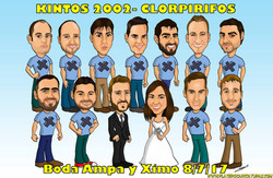 caricaturas_a_color_por_encargo_personalizadas_novios_boda_amigos_platerocaricaturas_elmundodeplater