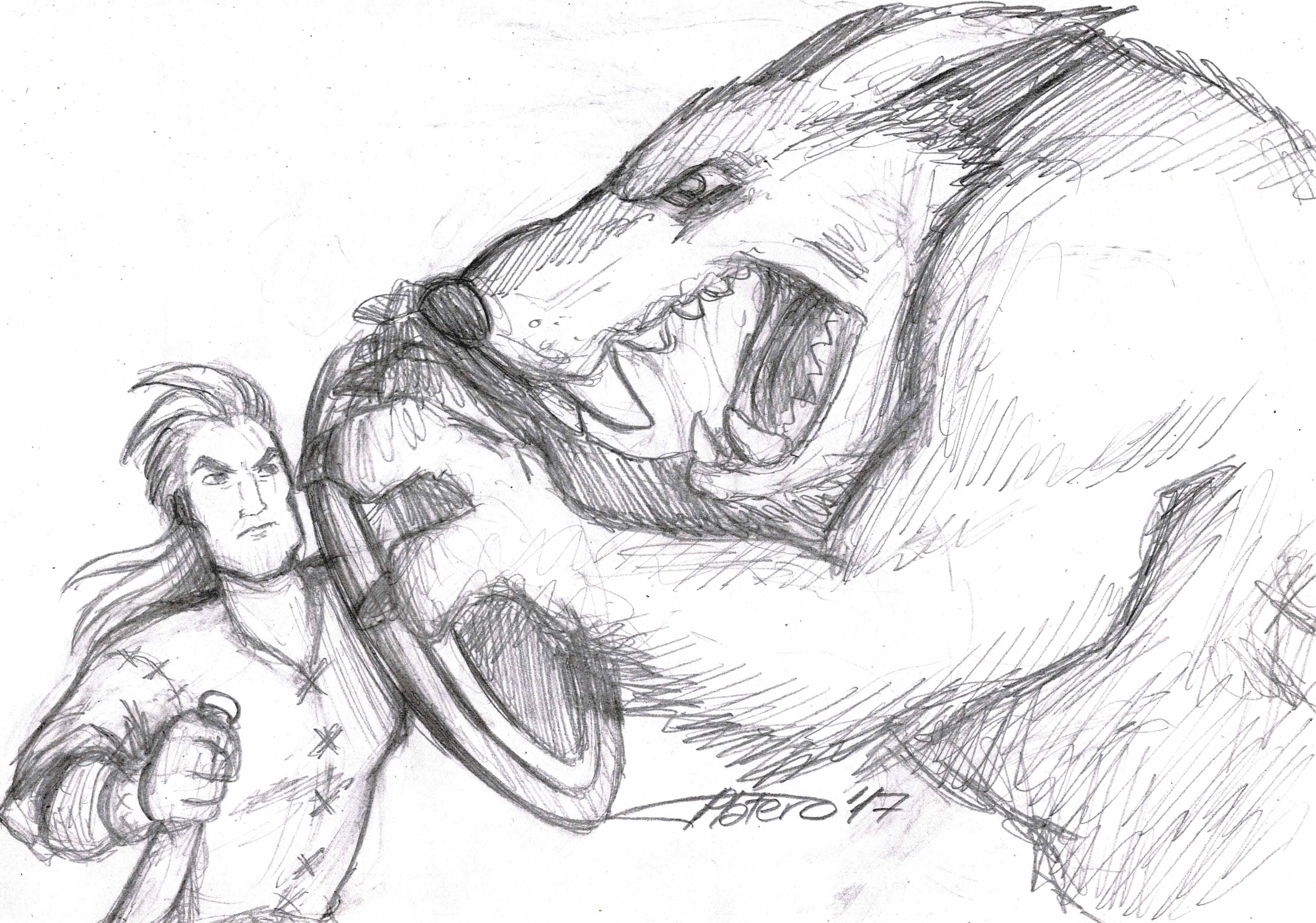 Caballero contra Hombre Lobo