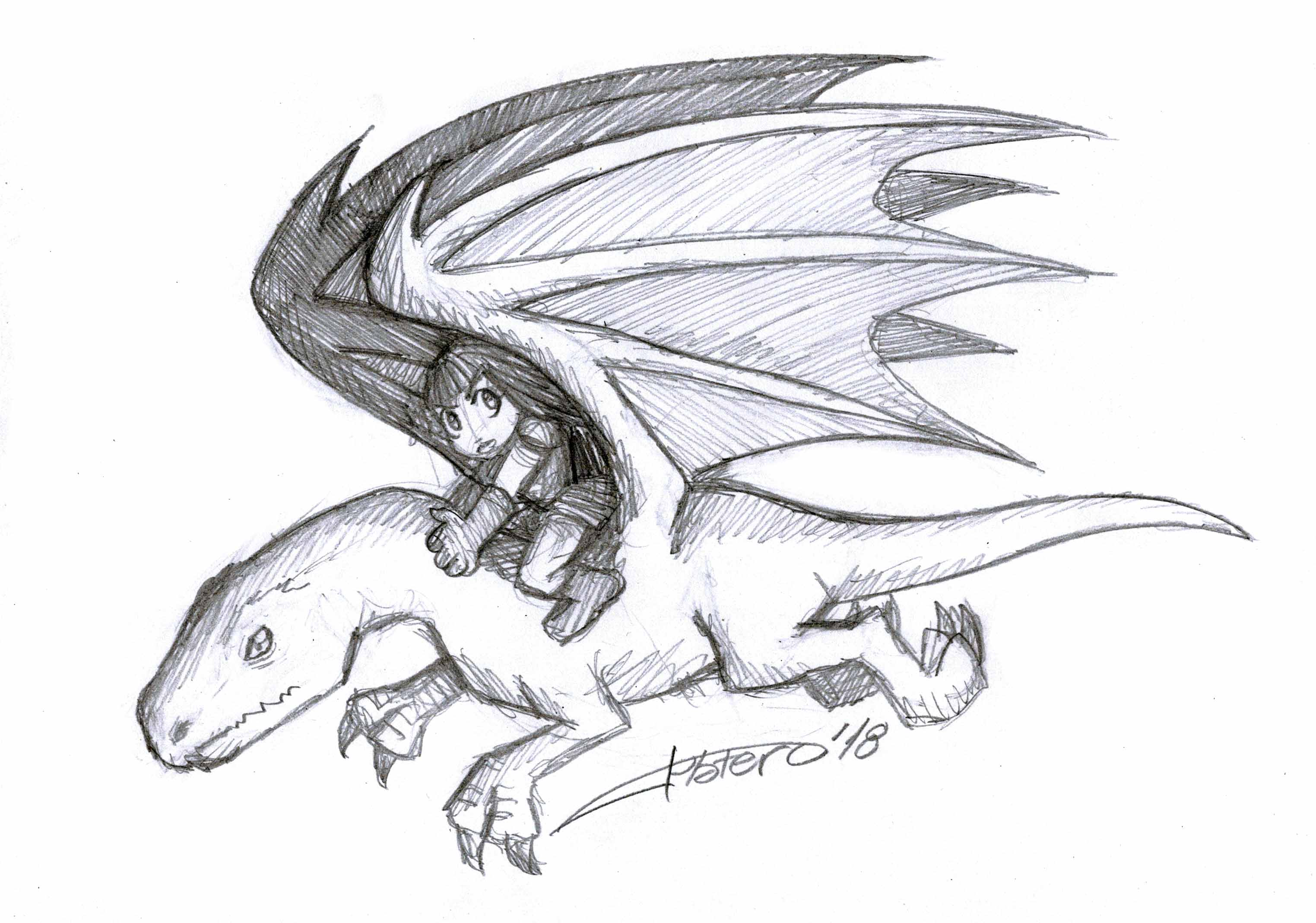 guerrerilla sobre dragon