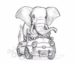 elefante_en_coche_seat_600_jose_luis_platero