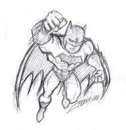 Boceto Batman