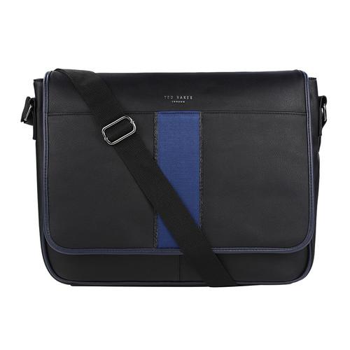 239eff5f9 Ted Baker Men Striped Crossbody Flap Laptop Messenger Bag