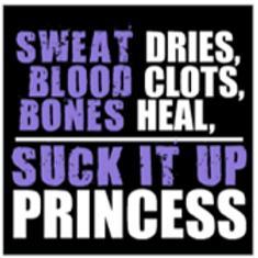 Sweat Dries (Purple/White)