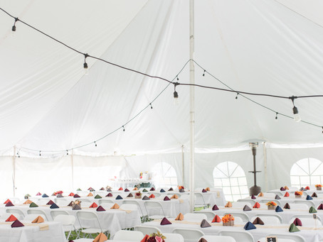 5 Steps to Start Planning Your Tent Wedding