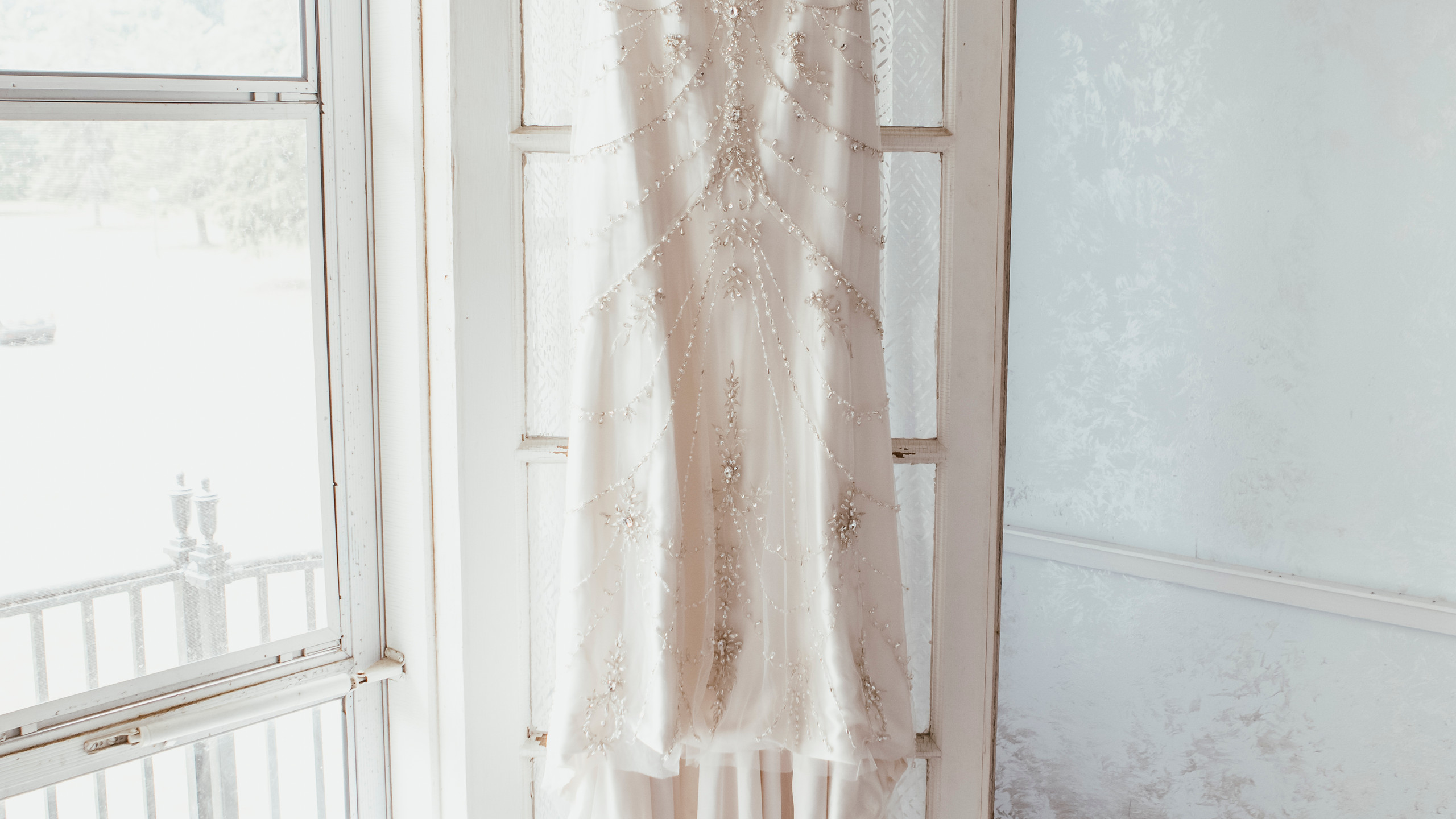 Twenties Inspired Wedding Dress