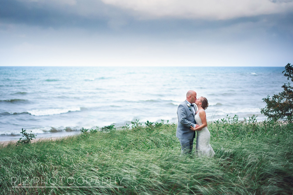 Kissing by Lake Erie