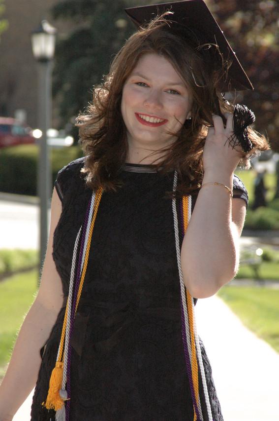 Taylor at Graduation