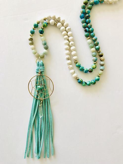 Hope 108 Mala Meditation Necklace
