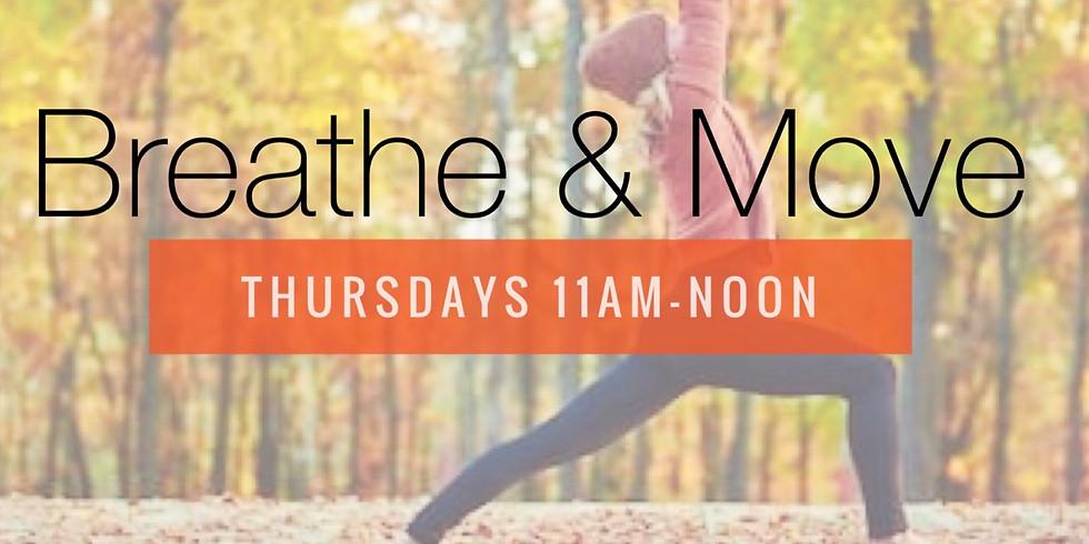 FREE Yoga: Breathe & Move Preview Class
