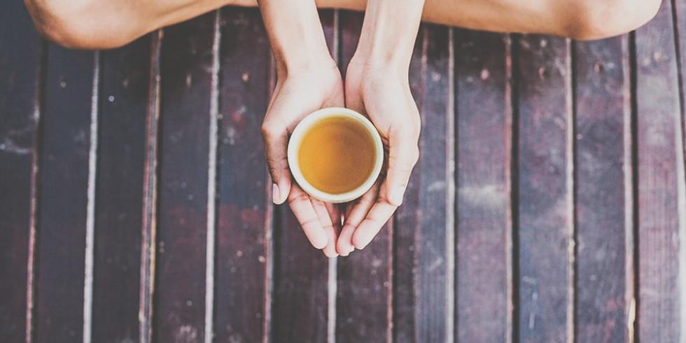 Meditation, Tea & Vegan Treats