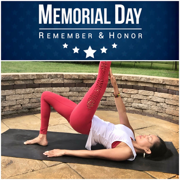 Memorial Day Yoga - Virtual Class | Access & Practice Anytime